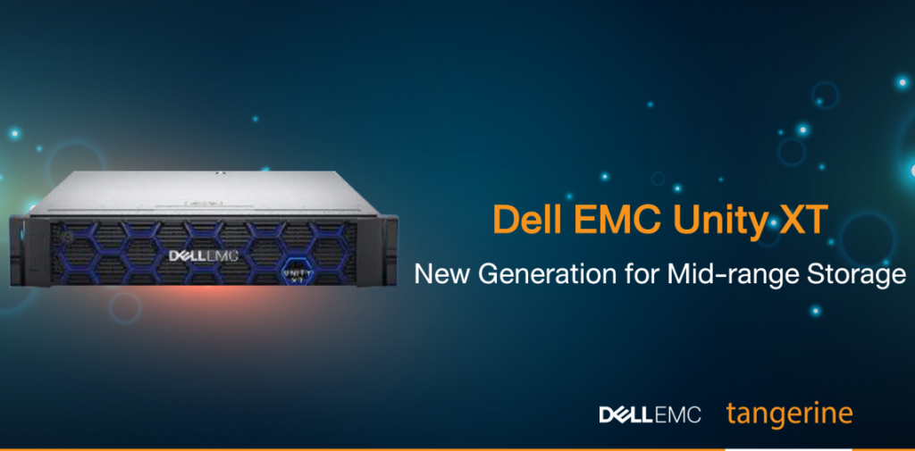 Dell EMC Unity XT New Generation for Mid-range Storage