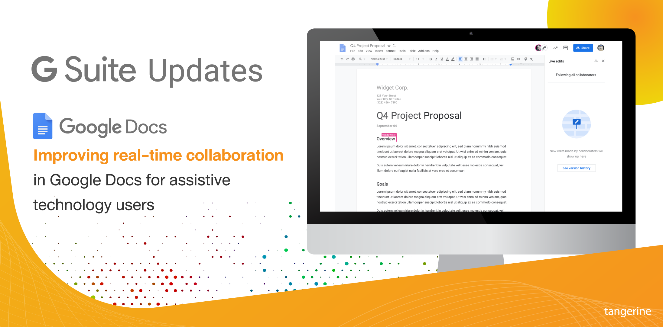 G Suite Live Editions