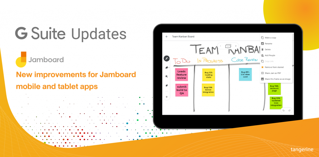 New improvements for Jamboard mobile and tablet apps
